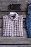 atelier de vêtements de créateurs. photo