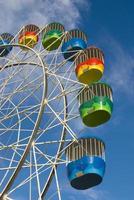 grande roue colorée photo