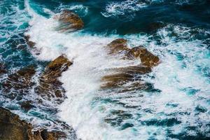 vagues de récif photo