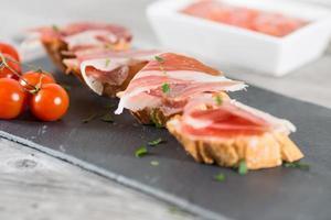 jambon brochette photo