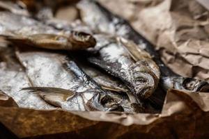 poisson séché photo