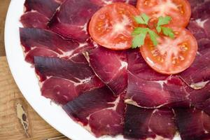 viande séchée photo