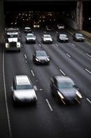 mouvement de la circulation, autoroute