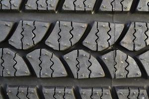 fond de pneu de voiture photo