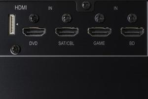 entrée HDMI photo