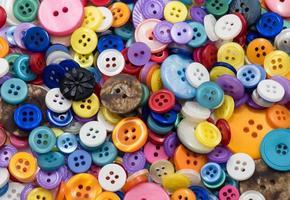 fond de boutons assortis photo