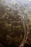 tour de guet de la grande muraille de Chine. photo