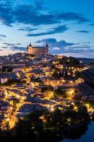 Toledo au crépuscule Espagne
