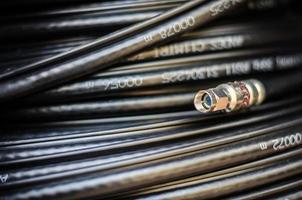 câble de fibre optique photo