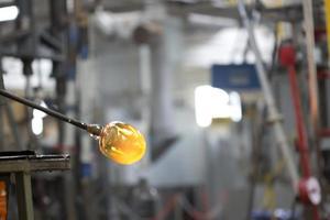 usine de verre de cristal