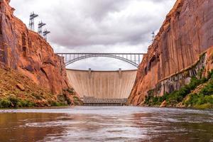 barrage du canyon de Glen photo