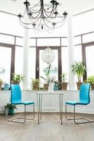 chaises de café conceptuel photo