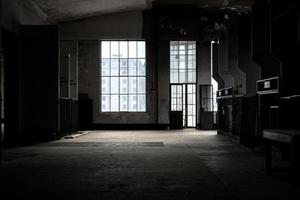 endroit sombre et abandonné