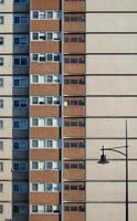 mur d'immeuble de grande hauteur photo