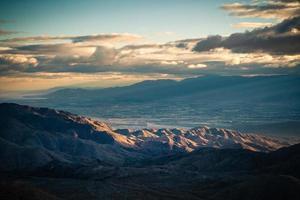 vue de la clé, joshua tree national park point de vue de coachella photo