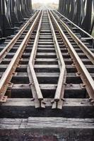 vieux chemin de fer photo