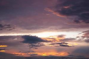magie violet orange soleil rayons de soleil