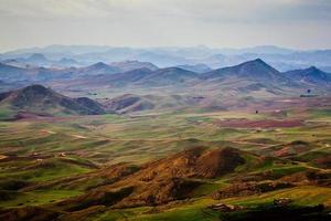 vue distance montagne photo
