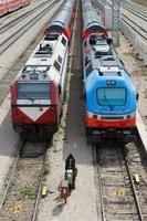 trains ferroviaires photo