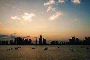 scène de la ville moderne photo