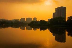 Wilmington au lever du soleil photo