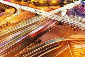 trafic sur la jonction en ville