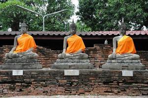 statues de Bouddha photo