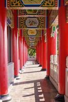 piliers dans le temple photo