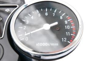 échelle de compteur de vitesse photo