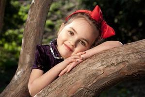 petite fille blanche neige photo