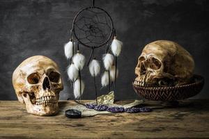 capteur de rêves de nature morte