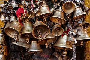 clochettes de l'hindouisme photo