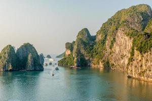 Baie d'Halong, Vietnam photo