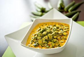 repas indien photo