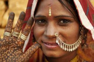 femme indienne photo