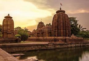 ancien temple indien photo