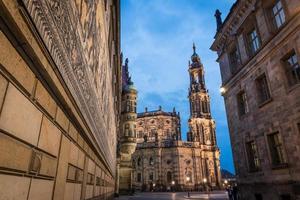 cathédrale de Dresde