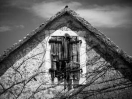 haut de la maison ancienne