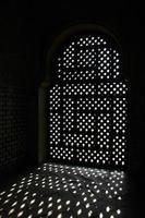 fenêtre à l'alhambra photo