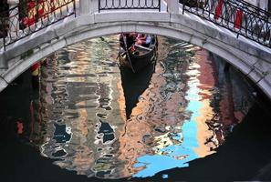 Pont et gondole, Venise, Italie photo