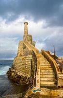 vieux phare à Malte photo