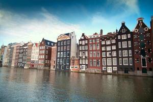 l'une des villes européennes les plus célèbres d'Amsterdam. photo