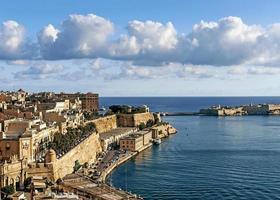 la vieille ville de la valette à malte photo