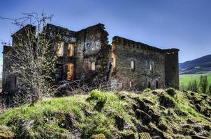 ruines du village photo