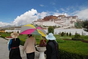 palais du potala lhassa photo
