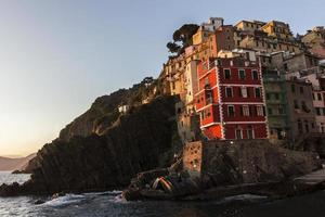 riomaggiore à cinque terre en italie photo