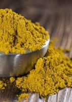 bol de curry en poudre photo
