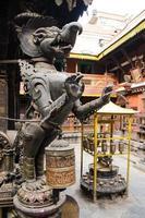 népal-patan durbar square l'un des kathmand photo