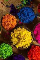 pigments indiens photo