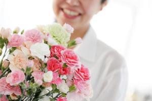 fleurs pour les cadeaux de fête des mères photo